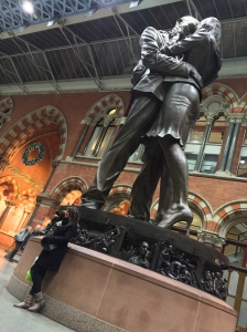 Photo of The Meeting Place at St Pancras International